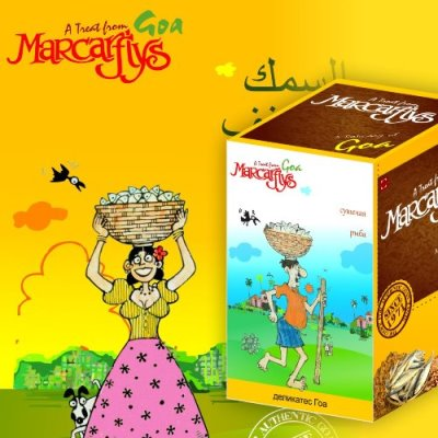 Marcafly Packaging Design
